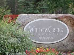Entrance To Willow Creek Highlands