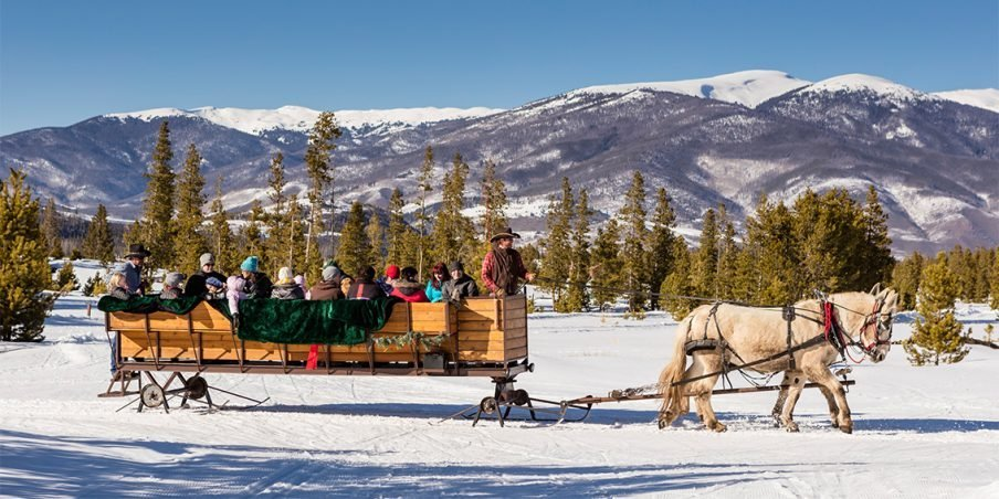SLEIGH RIDES NEARBY