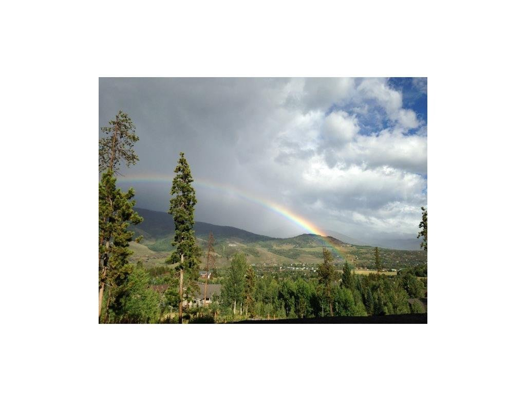 RAINBOW IN SILVERTHORNE COLORADO