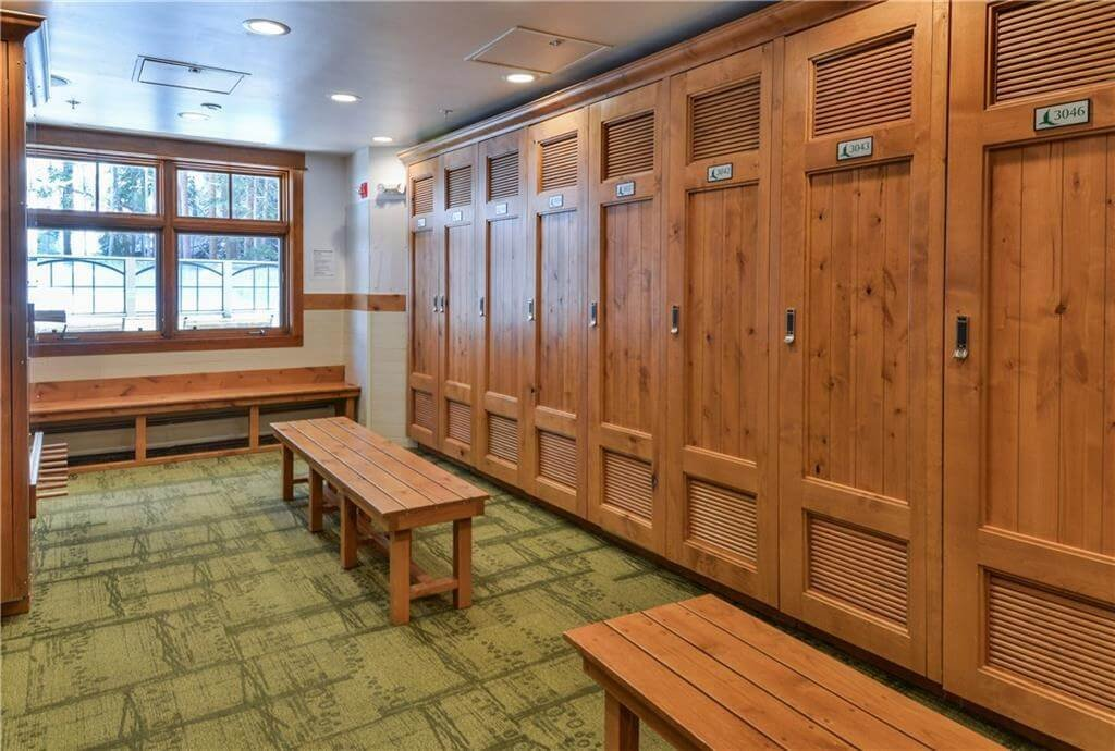 Lockers in Lone Eagle building