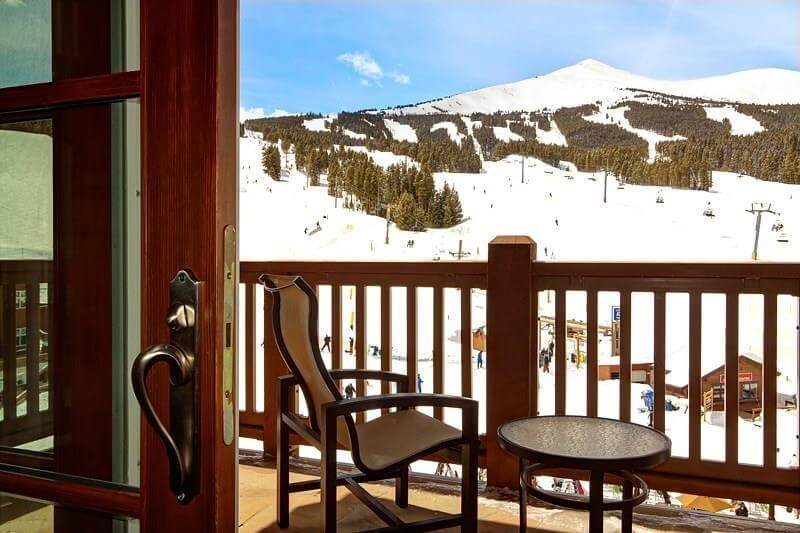 One Ski Hill Place balcony view