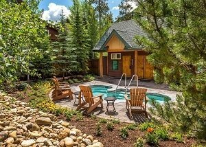 Ski Tip Ranch hot tub