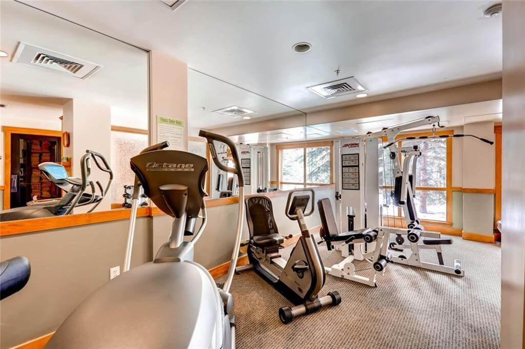 Fitness center at Springs at River Run