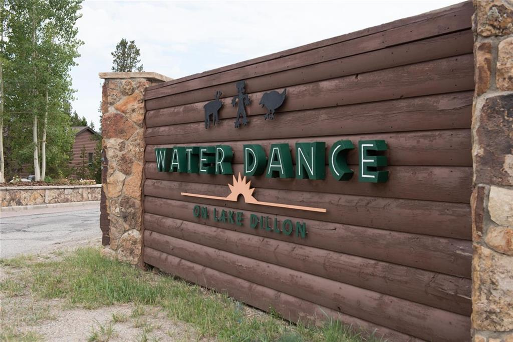 Water Dance neighborhood sign