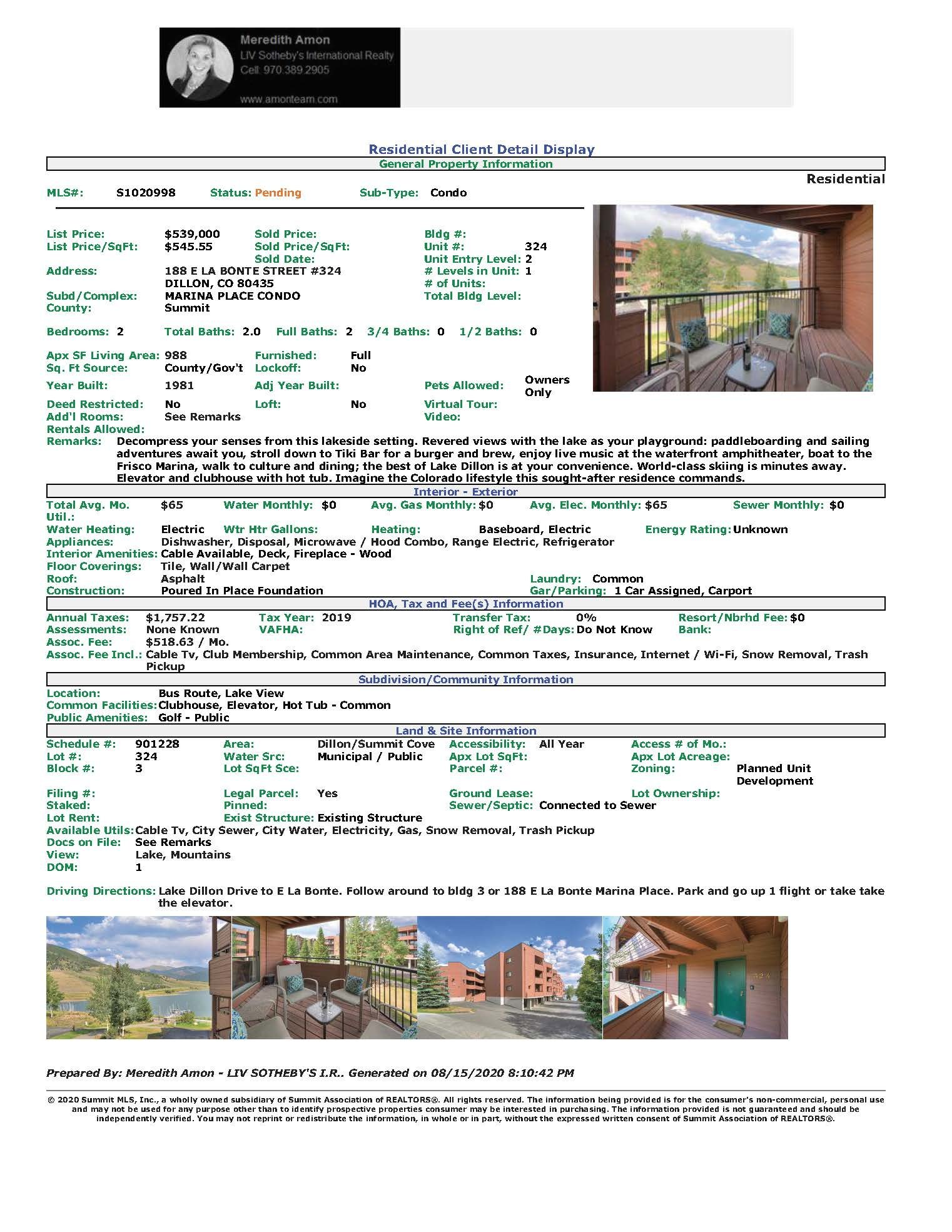 Marina_Place_Condo_For_Sale_Lake_Dillon_Colorado
