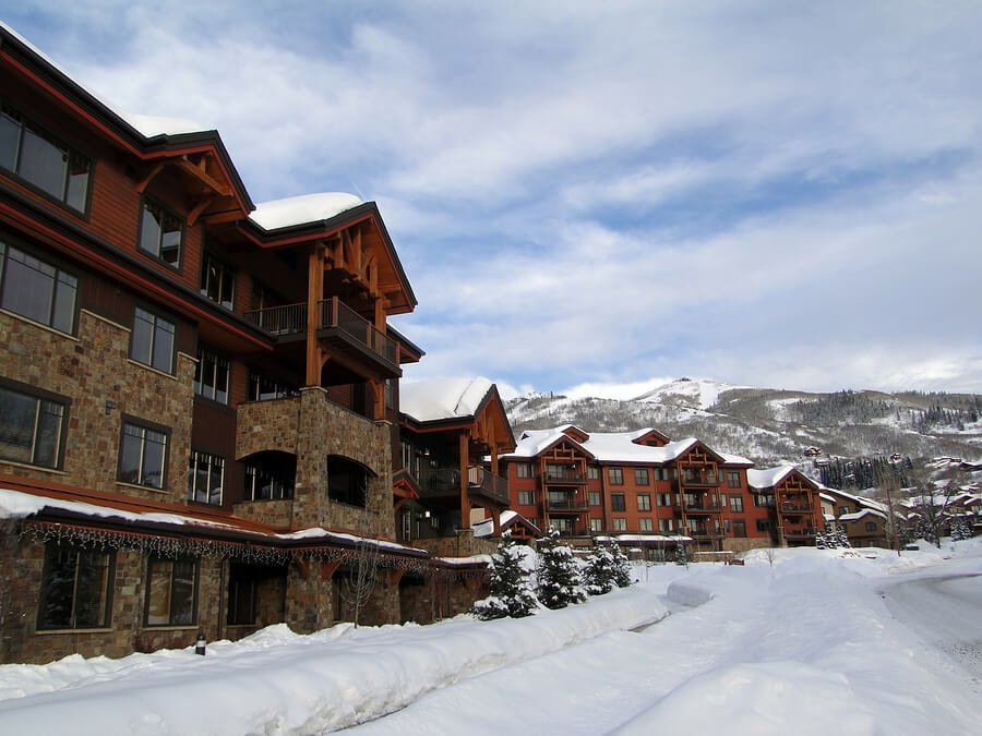 Beautiful Breckenridge condos exterior
