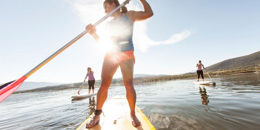 SUMMIT COUNTY CO PADDLEBOARDING